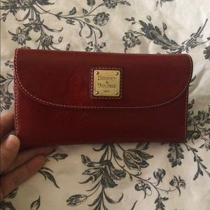 Dooney & Bourke Vintage Red Check Wallet